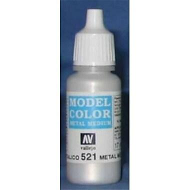 Vallejo Paint 70521 Model Color 80 - Metal Medium, 17 ml Gc (ACDD12040)