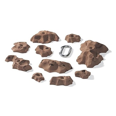 Nicros Medium Tissue Tiger Handholds - Brown (NCRS446)