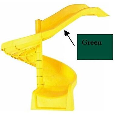 Child Works Spiral Slide - Green (SPINT313)