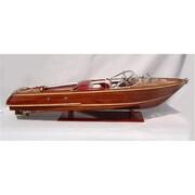 Old Modern Handicrafts Riva Aquarama Exclusive Edition Model Boat (OMHC003)