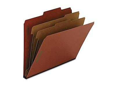 Smead 100% Recycled Pressboard Classification Folders, 2