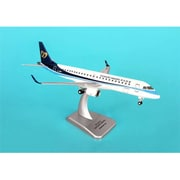 Hogan Wings 1-200 Commercial Models Mandarin Airlines Embraer Erj-190 with Landing Gear Fully Assembled (DARON8253)