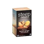 Steep Herbal Tea Bags, 20/Box (17704)