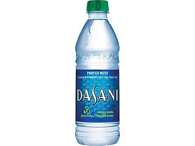 Dasani Water, 16.9 Oz., 24/Carton (00049000031652)