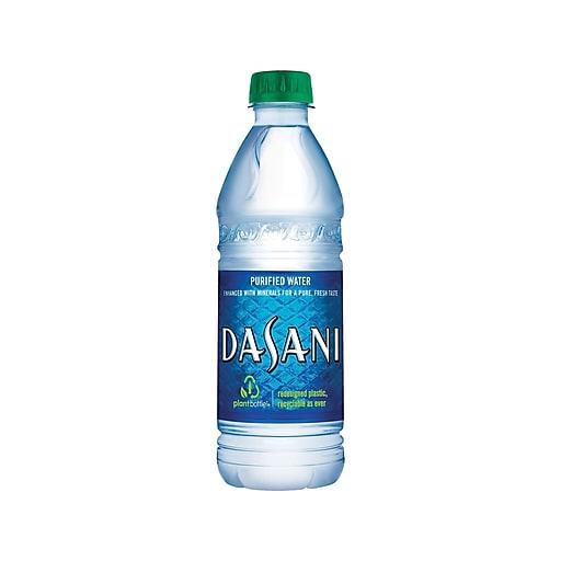Dasani Water, 16 9 Oz , 24/Carton (00049000031652)
