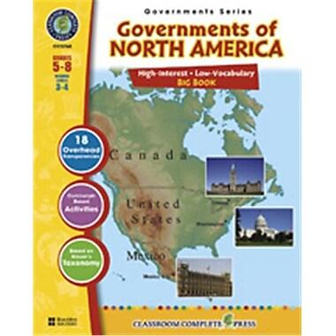 Classroom Complete Press Governments of North America Big Book (CC5760)