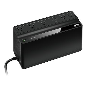 APC Back-UPS 425 Backup and Surge Protector, Black (BE425M)