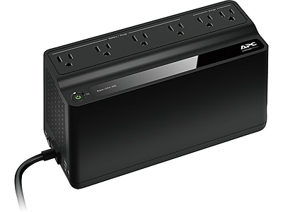 APC Back-UPS 425 Backup and Surge Protector, Black (BE425M)