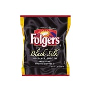 Folgers Black Silk Ground Coffee, Dark Roast, 42/Carton (SMU00019)