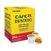 Cafe Bustelo Coffee, Keurig® K-Cup® Pods, Espresso, 24/Box (6106)