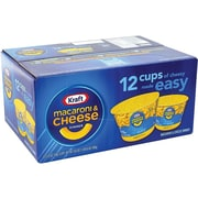 Kraft Mac & Cheese Pasta, 2.05 Oz., 12/Carton (220-00478)