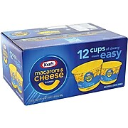 Kraft Mac & Cheese Pasta, 2.05 Oz., 12/Carton (220-00478)