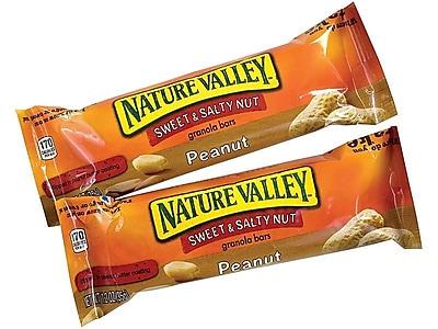 Nature Valley Sweet & Salty Bars, Peanut, 1.2 Oz., 48/Box (16879)