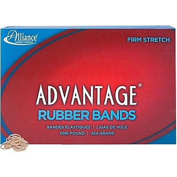 Alliance Advantage Multi-Purpose Rubber Bands, #8, 1 lb. Box, 5,200/Box (26085)