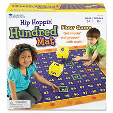 Learning Resources Hip Hopping Hundred Mat Floor Game (SPRCH46980)