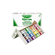 Crayola Kid's Markers, Broad Line, Assorted Colors, 256/Carton (58-8201)