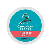 Caribou Coffee Mahogany Coffee, Keurig® K-Cup® Pods, Dark Roast, 24/Box (6990)