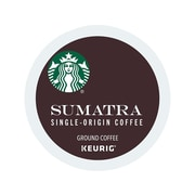 Starbucks Sumatra Coffee, Keurig® K-Cup® Pods, Dark Roast, 24/Box (736089)