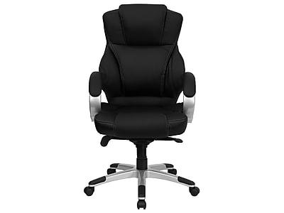 Flash Furniture Leather Executive Chair, Black (H-9626L-2-GG)