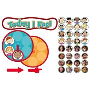 Carson Dellosa Gr Pk-2 Feelings Clock Bulletin Board Set (EDRE47235)