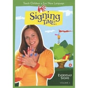 Harris Communications Signing Time - Everyday Signs DVD 3 (HRSC290)