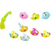 Nowali Konfetti Bath Toys - Fishing and Dirty Animals, Set of 9 (GTRDY315)