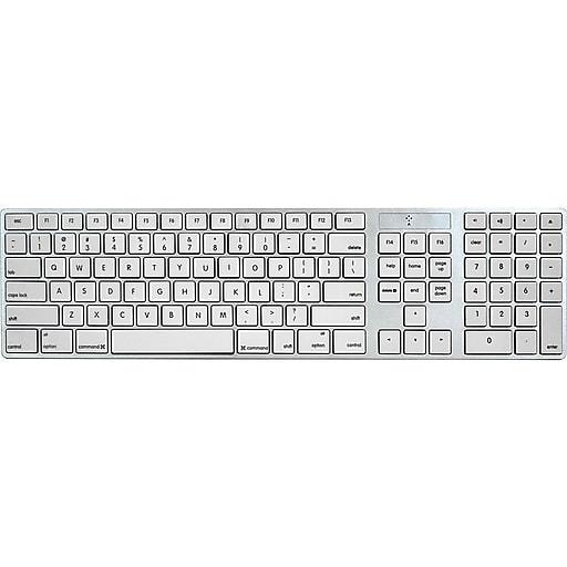 15e13463391 iHome Full Sized Keyboard for Mac   Staples