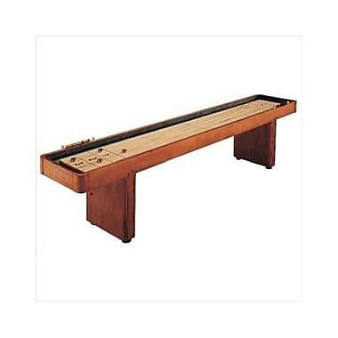 C.L. Bailey 9 ft. Shuffle Board Table - Traditional Mahogany (RWRDIC216)