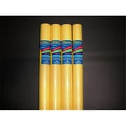 RiteCo Raydiant Riteco Raydiant Fade Resistant Art Rolls Light Yellow 48 In. X 50 Ft. 4 Pack (RTCO038)