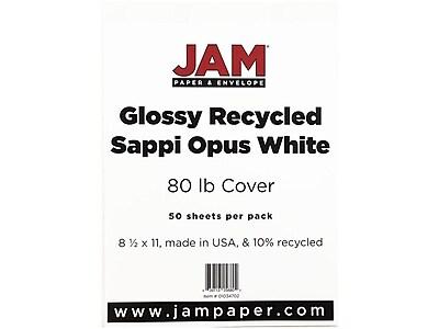 JAM Paper Cardstock Paper, 80 Lbs, 8.5