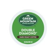 Green Mountain Coffee Roasters Double Diamond Coffee, Keurig® K-Cup® Pods, Dark Roast, 24/Box (4066)