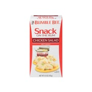 Bumble Bee Snack On The Run! Crackers, Chicken, 3.5 oz., 12/Carton (AHF70350)