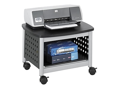 Safco Scoot Underdesk Mobile Printer Stand, Multicolor (1855BL)