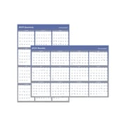 "2019 At-A-Glance 32.38""H x 48.38""W Wall Calendar, XL 2-Sided, Blue (A1152-19)"