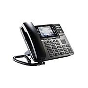 RCA Unison U1000 4-Line Corded Phone, Black