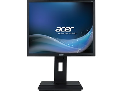 "Acer B6 B196L 19"" LED Monitor, Dark Gray"
