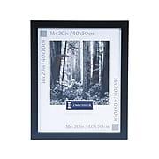 DAX Wide Wood Poster Frame, Black (2863V2X)