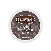 Celestial Seasonings English Breakfast Tea, Keurig K-Cup Pods, 24/Box (14731)