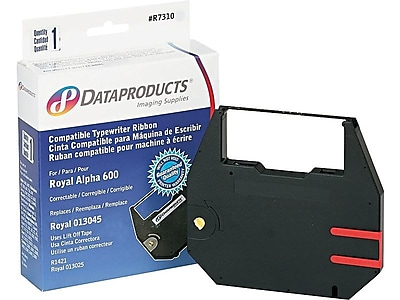 DataProducts Black Print Ribbon, Each (R7310)