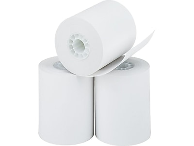 "PM Company Perfection Thermal Cash Register/POS Rolls, 2 1/4"" x 85', 3/Pack (05233)"