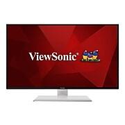"ViewSonic VX4380-4K 43"" LED Monitor, Black/White"