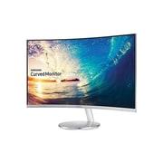 """Samsung CF591 Series LC27F591FDNXZA 27"""" LED Monitor, Silver"""