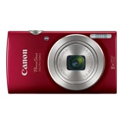 Canon PowerShot ELPH 180 20 Megapixels Point & Shoot Camera, 8x Zoom, Red