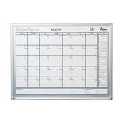 Skilcraft Quartet Dry-Erase Paint Planning Board, Aluminum Frame, 3' x 2' (NSN-2239896)