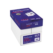 "Navigator Platinum 8.5"" x 11"" Color Copy Paper, 24 lbs, 99 Brightness, 500/Ream, 10 Reams/Carton (NPL1124)"