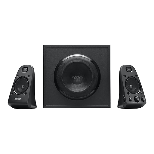 170af5a238b Logitech Z623 200W THX-Certified Speakers for Multiple Devices, Black  (980-000402) | Staples