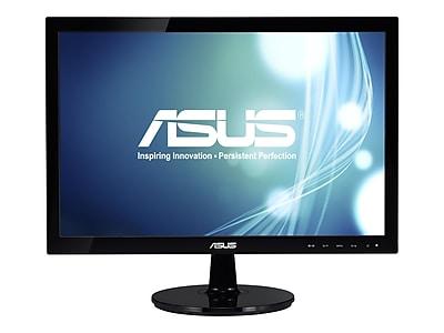 """ASUS VS197D-P 18.5"""" LED Monitor, Black"""