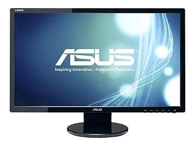 """ASUS VE248H 24"""" LED Monitor, Black"""