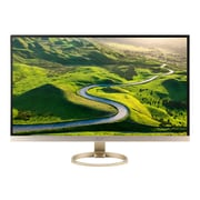 "Acer H7 UM.HH7AA.002 27"" LED Monitor, White/Gold"