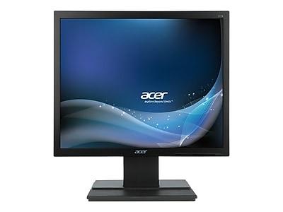"""Acer V6 UM.BV6AA.002 17"""" LED Monitor, Black"""